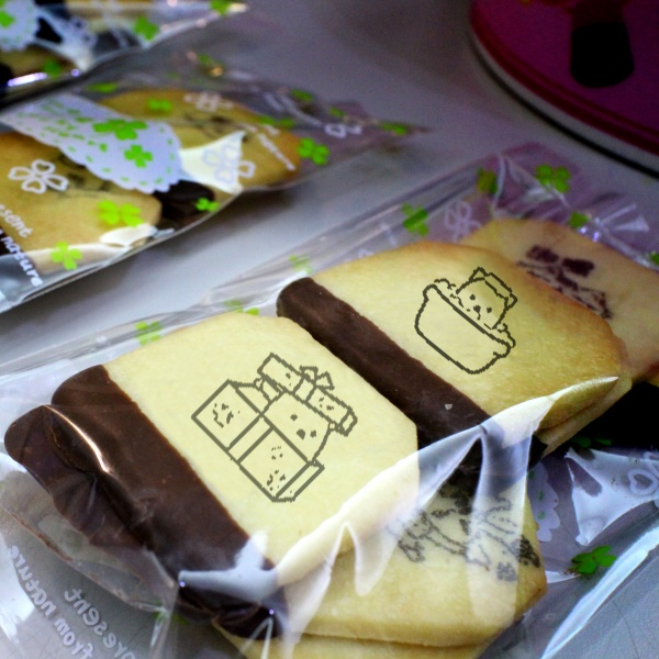 eyedbear0319,嘴饞系列 - 茶包巧克力餅乾 ( 附贈禮盒,適合與同事朋友家人分享一起吃 ) [ designed by 白眼。熊先生 ],