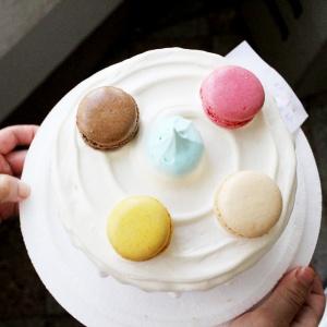 susan susan,馬卡龍_彩虹水果蛋糕系列 ( 下方可勾選不做冰淇淋變慕斯、也可做冰淇淋),