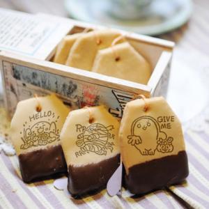 胖白毛阿糬 胖白毛阿糬,萬聖節快樂_嘴饞系列 - 茶包巧克力餅乾 ( 附贈禮盒,適合與同事朋友家人分享一起吃 ) [ designed by 胖白毛阿糬 ],