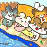 Colapi 可樂餅的島 Colapi 可樂餅的島,( 圖案可以吃喔 ) 冰淇淋彩虹水果蛋糕__推推桶系列 [ designed by Colapi 可樂餅的島 ],