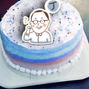 丁守中, JHO, 冰淇淋彩虹水果蛋糕 [ designed by jho ],插畫家, 冰淇淋, 慕斯, 彩虹蛋糕, 與手工甜點對話的Susan, 奶霜彩繪蛋糕, 手工甜點,PX漫漫手工市集, PX, 百萬LINE明星,甜點表心意, PrinXure, 客製化, 插畫, LINE, 百萬LINE明星陪你吃蛋糕, 漫漫手工市集, PrinXure, 拍洗社, 插畫家, 插畫角色, 布朗尼, PrinXure, 餅乾, 拍立得造型, 禮物, DESSERT365, 找甜甜網