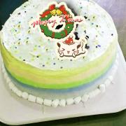 哈妮貓, 冰淇淋彩虹水果蛋糕 [ designed by 哈妮貓 ],插畫家, 冰淇淋, 慕斯, 彩虹蛋糕, 與手工甜點對話的Susan, 奶霜彩繪蛋糕, 手工甜點,PX漫漫手工市集, PX, 百萬LINE明星,甜點表心意, PrinXure, 客製化, 插畫, LINE, 百萬LINE明星陪你吃蛋糕, 漫漫手工市集, PrinXure, 拍洗社, 插畫家, 插畫角色, 布朗尼, PrinXure, 餅乾, 拍立得造型, 禮物, DESSERT365, 找甜甜