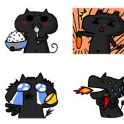 飛貓, 噓,我只是一隻愛說話的肥貓, 冰淇淋蛋糕, 推推桶, PX 漫漫手工甜點市集, 手工甜點, 冰淇淋蛋糕, 與手工甜點對話的Susan, 插畫, 客製化