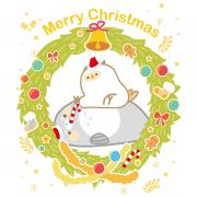 chieko0627,聖誕快樂 ( 圖案可以吃喔 ) 手工彩虹水果蛋糕__推推筒系列 ( 可勾不要冰淇淋, or 要冰淇淋 )(或名推推杯, 類似杯子蛋糕) [ designed by 千梔子 Chi E Ko Studio ],