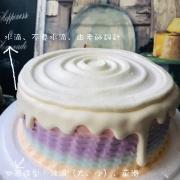 susan susan,Semifreddo義大利彩虹水果蛋糕_經典款(可更換本站1,000名港台知名插畫家設計或者客製寫真照片圖案) (唯一可全台宅配 情境蛋糕) ( 可勾不做冰淇淋、也可做冰淇淋,此奶醬是獨家研發的天然配方,熬煮多小時製作而成的,優點是低糖、好吃健康、且宅配不容易壞損融化!  吃的時候記得照包裝上「食用說明」吃,冷凍保存、退冰約5~10分鐘,退太久一般會融化,雖然Susan老師的不會輕易融化但也會失去冰淇淋口感,要注意喔!(回放冷凍1HR即可又恢復冰淇淋口感)),