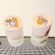 Colapi 可樂餅的島 Colapi 可樂餅的島,生日快樂 ( 圖案可以吃喔 ) 手工彩虹水果蛋糕__推推筒系列 ( 可勾不要冰淇淋, or 要冰淇淋 )(或名推推杯, 類似杯子蛋糕) [ designed by Colapi 可樂餅的島 ],