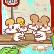 Colapi 可樂餅的島 Colapi 可樂餅的島,可愛動物 ( 圖案可以吃喔 ) 手工彩虹水果蛋糕__推推筒系列 ( 可勾不要冰淇淋, or 要冰淇淋 )(或名推推杯, 類似杯子蛋糕) [ designed by Colapi 可樂餅的島 ],