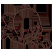 poo0611,懶狗 嘴饞系列 - 茶包巧克力餅乾 ( 附贈禮盒,適合與同事朋友家人分享一起吃 ) [ designed by 法鬥闊嘴仔(poo) ],
