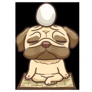 poo0611,Tandora收涎餅乾 ( 附贈禮盒 )(收涎保孩子衣食無缺) ( 12片1盒、含紅線&穿洞 )  [ designed by 法鬥闊嘴仔(poo) ],