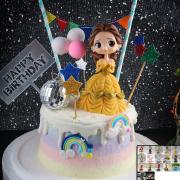 susan susan,冰淇淋裝飾水果蛋糕__公仔玩具通用款 ( 可挑選一款公仔或者玩具,另附贈鑽石、氣球裝飾、隨機插旗、派對插旗    ) (唯一可全台宅配冰淇淋蛋糕) ( 可勾不做冰淇淋、也可做冰淇淋),