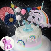 susan susan, 情境蛋糕__彩虹小馬王國 (附贈彩虹小馬、彩虹插旗、雨傘插旗、派對拉旗、氣球or雲朵擺飾、數個彩虹膠片    裝飾造型不定期調整, 但主題與數量都會一致請放心。部分蛋糕依照您勾選的附件贈品種類與數量不同,材積與蛋糕造型會有增加或者變動,因此蛋糕售價會跟著浮動) (唯一可全台宅配 情境蛋糕) ( 可勾不做冰淇淋、也可做冰淇淋,此奶醬是獨家研發的天然配方,熬煮多小時製作而成的,優點是低糖、好吃健康、且宅配不容易壞損融化!  吃的時候記得照包裝上「食用說明」吃,冷凍保存、退冰約5~10分鐘,退太久一般會融化,雖然Susan老師的不會輕易融化但也會失去冰淇淋口感,要注意喔!(回放冷凍1HR即可又恢復冰淇淋口感)(裝飾品為贈品不得轉售)),