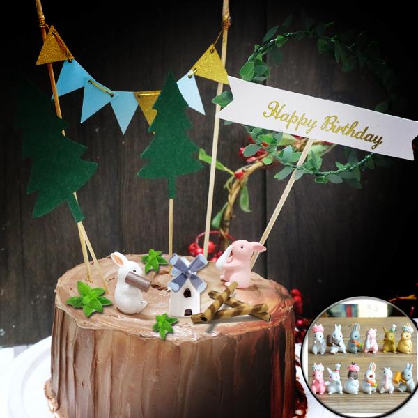 susan susan,兔兔派對___樹木 冰淇淋千層蛋糕  ( 附上12種小兔公仔 、小屋、可食用的取暖樹枝堆、草叢堆、樹木插旗、派對拉旗、與生日快樂牌子  ) ( 可勾不做巧克力、也可做巧克力以榛果巧克力為主軸)( 可勾不要抹茶、也可勾要抹茶風味 )( 可勾不要冰淇淋、也可勾要冰淇淋口感 )    (可全台宅配),