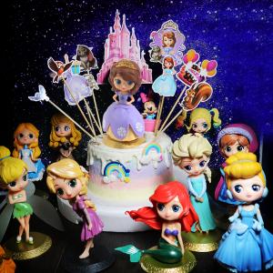susan susan, 冰淇淋千層蛋糕__公主的世界 ( 附上公主、城堡插件、小動物插件、立體彩虹   造型不定期調整*。.) (唯一可宅配冰淇淋蛋糕#,也可不做冰淇淋 )...  ....(裝飾品為贈品不得轉售..平均哈根達斯蛋糕熱量的1/5台灣蛋糕的1/4)),