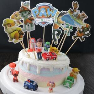 susan susan,冰淇淋裝飾水果蛋糕__旺旺隊立大功  ( 附贈旺旺隊玩具12隻、專屬插件 ) (唯一可全台宅配冰淇淋蛋糕) ( 可勾不做冰淇淋、也可做冰淇淋),