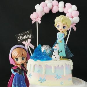 冰雪奇緣,Elsa, 安娜, 雪寶, 公主, 公仔, 玩具, 裝飾蛋糕, 冰淇淋蛋糕, Dessert365, PX 漫漫手工甜點市集, 手工甜點, 冰淇淋蛋糕, 與手工甜點對話的Susan, 插畫, 客製化