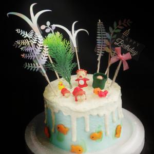 波妞, 公仔, 玩具, 裝飾蛋糕, 冰淇淋蛋糕, Dessert365, PX 漫漫手工甜點市集, 手工甜點, 冰淇淋蛋糕, 與手工甜點對話的Susan, 插畫, 客製化