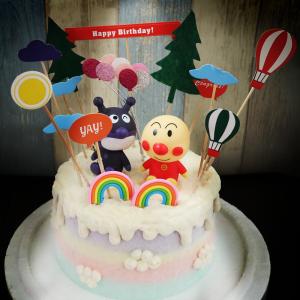麵包超人, 細菌人, 公仔, 玩具, 裝飾蛋糕, 冰淇淋蛋糕, Dessert365, PX 漫漫手工甜點市集, 手工甜點, 冰淇淋蛋糕, 與手工甜點對話的Susan, 插畫, 客製化