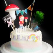 小紅帽與大野狼, 公仔, 玩具, 裝飾蛋糕, 冰淇淋蛋糕, Dessert365, PX 漫漫手工甜點市集, 手工甜點, 冰淇淋蛋糕, 與手工甜點對話的Susan, 插畫, 客製化
