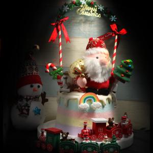 susan susan, 情境蛋糕___聖誕老公公準時到府 ( 附上聖誕老公公、耶誕裝飾與糖果、彩虹、火車,裝飾造型不定期調整, 但主題與數量都會一致請放心。部分蛋糕依照您勾選的附件贈品種類與數量不同,材積與蛋糕造型會有增加或者變動,因此蛋糕售價會跟著浮動) (唯一可全台宅配 情境蛋糕) ( 可勾不做冰淇淋、也可做冰淇淋,此奶醬是獨家研發的天然配方,熬煮多小時製作而成的,優點是低糖、好吃健康、且宅配不容易壞損融化!  吃的時候記得照包裝上「食用說明」吃,冷凍保存、退冰約5~10分鐘,退太久一般會融化,雖然Susan老師的不會輕易融化但也會失去冰淇淋口感,要注意喔! (回放冷凍1HR即可又恢復冰淇淋口感)(裝飾品為贈品不得轉售)),