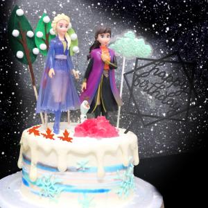 susan susan,情境蛋糕___冰雪奇緣2之我們長大了 ( 附上ELSA、安娜、火精靈果凍、魔法森林、生日快樂插件、選附雪寶,裝飾造型不定期調整, 但主題與數量都會一致請放心。部分蛋糕依照您勾選的附件贈品種類與數量不同,材積與蛋糕造型會有增加或者變動,因此蛋糕售價會跟著浮動) (唯一可全台宅配 情境蛋糕) ( 可勾不做冰淇淋、也可做冰淇淋,此奶醬是獨家研發的天然配方,熬煮多小時製作而成的,優點是低糖、好吃健康、且宅配不容易壞損融化!  吃的時候記得照包裝上「食用說明」吃,冷凍保存、退冰約5~10分鐘,退太久一般會融化,雖然Susan老師的不會輕易融化但也會失去冰淇淋口感,要注意喔! (回放冷凍1HR即可又恢復冰淇淋口感)(裝飾品為贈品不得轉售)),