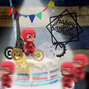 susan susan,情境蛋糕___閃電俠的多重宇宙 ( 附上閃電俠、時空齒輪、巴黎鐵塔或者大笨鐘等建築、三角派對拉旗、生日插件,裝飾造型不定期調整, 但主題與數量都會一致請放心。部分蛋糕依照您勾選的附件贈品種類與數量不同,材積與蛋糕造型會有增加或者變動,因此蛋糕售價會跟著浮動) (唯一可全台宅配 情境蛋糕) ( 可勾不做冰淇淋、也可做冰淇淋,此奶醬是獨家研發的天然配方,熬煮多小時製作而成的,優點是低糖、好吃健康、且宅配不容易壞損融化!  吃的時候記得照包裝上「食用說明」吃,冷凍保存、退冰約5~10分鐘,退太久一般會融化,雖然Susan老師的不會輕易融化但也會失去冰淇淋口感,要注意喔! (回放冷凍1HR即可又恢復冰淇淋口感)(裝飾品為贈品不得轉售)) (複製),
