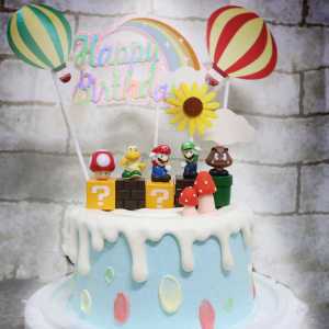 瑪利歐, 與手工甜點對話的SUSAN, dessert365, 漫漫手工甜點市集, 幼稚園慶生, 冰淇淋蛋糕, 法式甜點, 卡通蛋糕, 彩虹蛋糕, 寶寶蛋糕, 公主蛋糕, 生日蛋糕, 手工甜點, 宅配蛋糕, 週歲蛋糕, 母親節蛋糕, 父親節蛋糕, susan冰淇淋蛋糕評價, 彌月蛋糕, 慕斯蛋糕