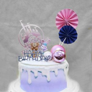史黛拉兔與達菲熊 , 與手工甜點對話的SUSAN, dessert365, 漫漫手工甜點市集, 幼稚園慶生, 冰淇淋蛋糕, 法式甜點, 卡通蛋糕, 彩虹蛋糕, 寶寶蛋糕, 公主蛋糕, 生日蛋糕, 手工甜點, 宅配蛋糕, 週歲蛋糕, 母親節蛋糕, 父親節蛋糕, susan冰淇淋蛋糕評價, 彌月蛋糕, 慕斯蛋糕