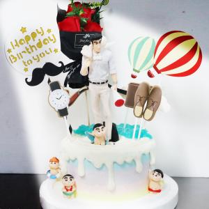 蠟筆小新, 父親節蛋糕, 野原廣志 , 與手工甜點對話的SUSAN, dessert365, 漫漫手工甜點市集, 幼稚園慶生, 冰淇淋蛋糕, 法式甜點, 卡通蛋糕, 彩虹蛋糕, 寶寶蛋糕, 公主蛋糕, 生日蛋糕, 手工甜點, 宅配蛋糕, 週歲蛋糕, 母親節蛋糕, 父親節蛋糕, susan冰淇淋蛋糕評價, 彌月蛋糕, 慕斯蛋糕