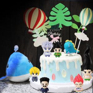 susan susan,這不是翻糖因翻糖不好吃__獵人之島 ( 附上小傑與夥伴們、怪獸、怪誕大森林、熱氣球、生日插件, 造型不定期調整*。.) (唯一可宅配冰淇淋蛋糕#,也可不做冰淇淋 )...  ....(裝飾品為贈品不得轉售..平均哈根達斯蛋糕熱量的1/5台灣蛋糕的1/4)),