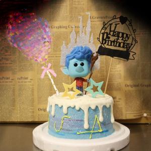 susan susan,冰淇淋千層蛋糕__1/2的魔法 ( 附上魔法師、氣球、魔法城堡、生日插件, 裝飾造型不定期調整, 但主題與數量都會一致請放心。.) (唯一可全台宅配 冰淇淋千層蛋糕, 共同利用宅配對抗武漢肺炎, 減少不必要外出,也可勾不做冰淇淋 )...  ....(裝飾品為贈品不得轉售, 部分蛋糕依照您勾選的附件贈品種類與數量不同,材積與蛋糕造型會有增加或者變動,因此蛋糕售價會跟著浮動)),