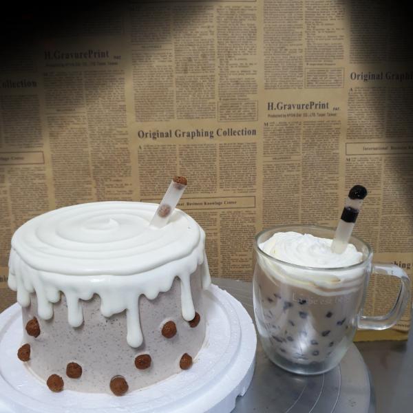 susan susan,黑糖波霸珍珠撞奶 or 波霸珍珠鮮奶紅茶___ 冰淇淋千層蛋糕 (唯一可宅配冰淇淋蛋糕#,也可不做冰淇淋 )...,冷凍保存,