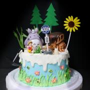 龍貓公車站, 玩具, 裝飾蛋糕, 冰淇淋蛋糕, Dessert365, PX 漫漫手工甜點市集, 手工甜點, 冰淇淋蛋糕, 與手工甜點對話的Susan, 插畫, 客製化
