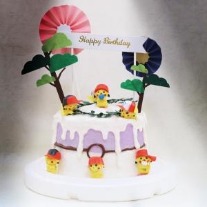 戴帽子皮卡丘, 玩具, 裝飾蛋糕, 冰淇淋蛋糕, Dessert365, PX 漫漫手工甜點市集, 手工甜點, 冰淇淋蛋糕, 與手工甜點對話的Susan, 插畫, 客製化