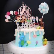 susan susan,冰淇淋千層蛋糕__拋開過去勇敢做自己 ( 附上玩具總動員角色們、玩具世界城堡、氣球、夢幻球,部分造型不定期調整*。.) (唯一可宅配冰淇淋蛋糕#,也可不做冰淇淋 )...  ....(裝飾品為贈品不得轉售..平均哈根達斯蛋糕熱量的1/5台灣蛋糕的1/4)),