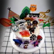 susan susan,這不是翻糖因翻糖不好吃__可可夜總會 ( 附上各個主角、派對鑽石、帳篷、仙人掌、音符擺件、貓頭鷹,造型不定期調整*。.) (唯一可宅配冰淇淋蛋糕#,也可不做冰淇淋 )...  ....(裝飾品為贈品不得轉售..平均哈根達斯蛋糕熱量的1/5台灣蛋糕的1/4)),