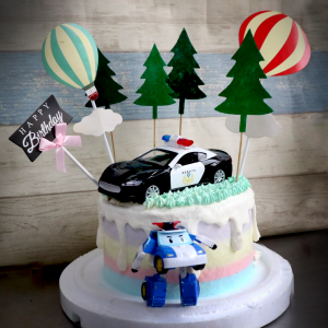 警察, 警車, POLI, 與手工甜點對話的SUSAN, dessert365, 漫漫手工甜點市集, 幼稚園慶生, 冰淇淋蛋糕, 法式甜點, 卡通蛋糕, 彩虹蛋糕, 寶寶蛋糕, 公主蛋糕, 生日蛋糕, 手工甜點, 宅配蛋糕, 週歲蛋糕, 母親節蛋糕, 父親節蛋糕, susan冰淇淋蛋糕評價, 彌月蛋糕, 慕斯蛋糕