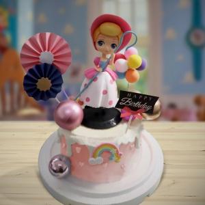 susan susan,冰淇淋千層蛋糕__牧羊女 ( 附上牧羊女、氣球、彩虹、夢幻風傘、生日快樂插件,部分造型不定期調整*。.) (唯一可宅配冰淇淋蛋糕#,也可不做冰淇淋 )...  ....(裝飾品為贈品不得轉售..平均哈根達斯蛋糕熱量的1/5台灣蛋糕的1/4)),