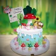 susan susan,冰淇淋千層蛋糕__蘑菇人 ( 附上蘑菇人、蘑菇、森林、郊區立牌、向日葵,   造型不定期調整*。.) (唯一可宅配冰淇淋蛋糕#,也可不做冰淇淋 )...  ....(裝飾品為贈品不得轉售..平均哈根達斯蛋糕熱量的1/5台灣蛋糕的1/4)),