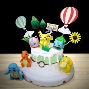 寶可夢,精靈球, 皮卡丘, 與手工甜點對話的SUSAN, dessert365, 漫漫手工甜點市集, 幼稚園慶生, 冰淇淋蛋糕, 法式甜點, 卡通蛋糕, 彩虹蛋糕, 寶寶蛋糕, 公主蛋糕, 生日蛋糕, 手工甜點, 宅配蛋糕, 週歲蛋糕, 母親節蛋糕, 父親節蛋糕, susan冰淇淋蛋糕評價, 彌月蛋糕, 慕斯蛋糕