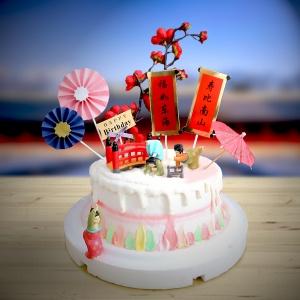 susan susan,全台唯一可宅配_冰淇淋千層蛋糕__祝妳永遠身材一級棒 ( 附上一個軟Q瑜珈女、韓式建築、貴仕女之傘、牡丹、可愛立牌  造型不定期調整*。.) (##也可不做冰淇淋 )...  ....(裝飾品為贈品不得轉售..平均哈根達斯蛋糕熱量的1/5台灣蛋糕的1/4))防疫期間,新竹以北延誤機率約1%,因此會提早給司機,提早到放冷凍保鮮不擔心,