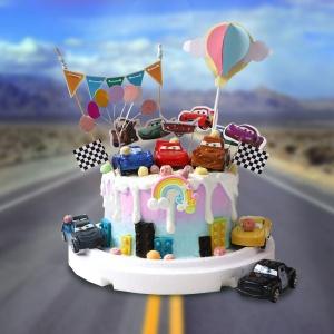 CARS, 汽車總動員, 麥坤, 麥昆, 與手工甜點對話的SUSAN, dessert365, 漫漫手工甜點市集, 幼稚園慶生, 冰淇淋蛋糕, 法式甜點, 卡通蛋糕, 彩虹蛋糕, 寶寶蛋糕, 公主蛋糕, 生日蛋糕, 手工甜點, 宅配蛋糕, 週歲蛋糕, 母親節蛋糕, 父親節蛋糕, susan冰淇淋蛋糕評價, 彌月蛋糕, 慕斯蛋糕