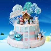 企鵝, 企鵝蛋糕, 與手工甜點對話的SUSAN, dessert365, 漫漫手工甜點市集, 幼稚園慶生, 冰淇淋蛋糕, 法式甜點, 卡通蛋糕, 彩虹蛋糕, 寶寶蛋糕, 公主蛋糕, 生日蛋糕, 手工甜點, 宅配蛋糕, 週歲蛋糕, 母親節蛋糕, 父親節蛋糕, susan冰淇淋蛋糕評價, 彌月蛋糕, 慕斯蛋糕
