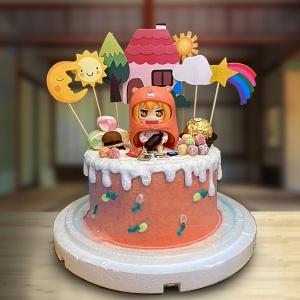 susan susan,全台唯一可宅配_冰淇淋千層蛋糕__血小板 ( 附上血小板、兒童風車、可愛小鴨、交通號誌、工程椎  造型不定期調整*。.) (##也可不做冰淇淋 )... 工作細胞卡通很好看喔 ....(裝飾品為贈品不得轉售..平均哈根達斯蛋糕熱量的1/5台灣蛋糕的1/4))防疫期間,新竹以北延誤機率約1%,因此會提早給司機,提早到放冷凍保鮮不擔心,