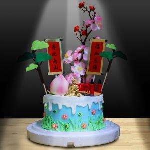 susan susan,全台唯一可宅配_冰淇淋千層蛋糕__哈姆太郎 ( 附上哈姆太郎、元氣鞦韆、快樂帳篷、向日葵   造型不定期調整*。.) (##也可不做冰淇淋 )...  ....(裝飾品為贈品不得轉售..平均哈根達斯蛋糕熱量的1/5台灣蛋糕的1/4))防疫期間,新竹以北延誤機率約1%,因此會提早給司機,提早到放冷凍保鮮不擔心,
